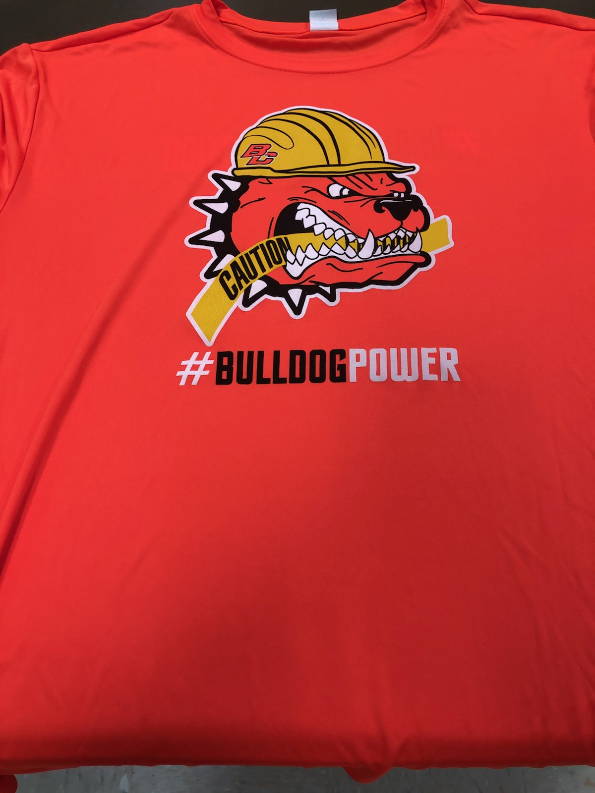 Neon #BulldogPower Shirt Blowout!