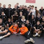 Byron center varsity wrestling takes District championship