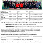 Girls Soccer Summer Camp Information