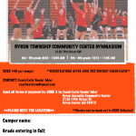 Volleyball Summer Camp Information