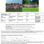 Boys Soccer Summer Camp Information