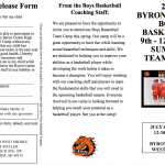Boys High School Basketball Team Camp