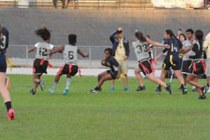 JV Girls Flag Football v Olympia 3-7-16