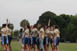 Varsity Flag Football vs. Colonial 4-12-16