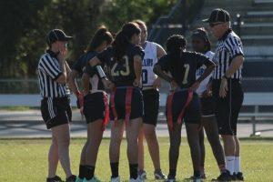 Jv Flag Football vs. Dr. Phillips 4-4-16