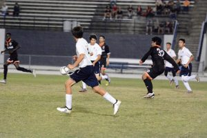 JV Boys Soccer vs Winter Park 11-29-16