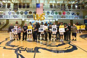 Boys Varsity Basketball Senior Night 2017