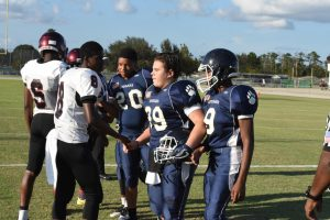 UHS Freshman Football v Cypress Creek 9-21-17