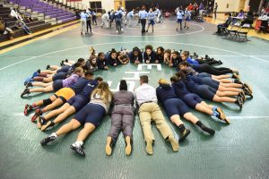 Varsity Girls Wrestling 1-17-18