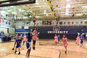 Varsity Girls Basketball Think Pink Classic vs Lyman
