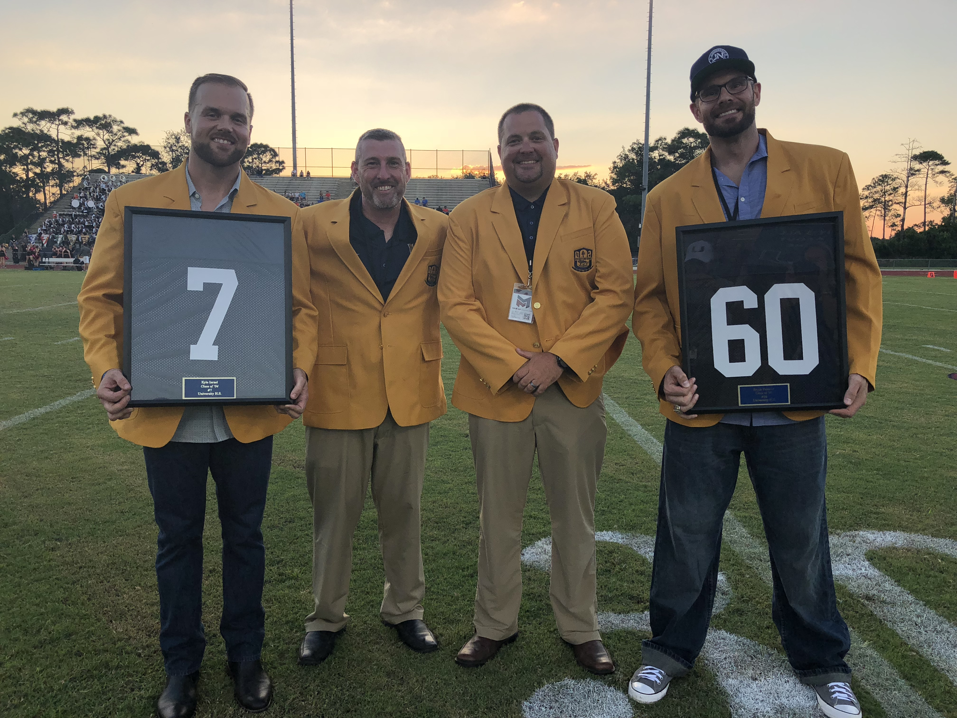 UHS Inducts first two members of the Hall of Fame