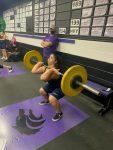 Girls Weightlifting at Timber Creek