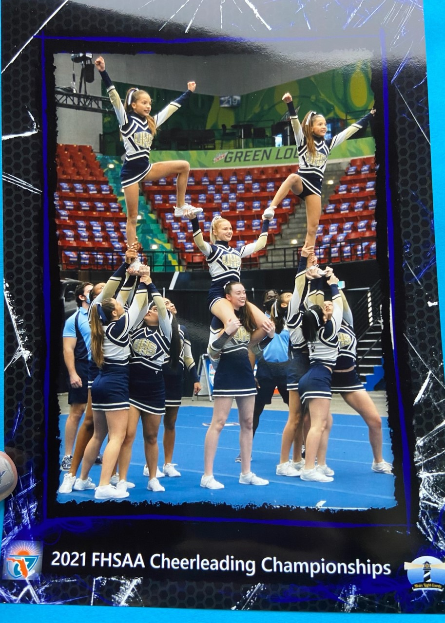 UHS Cheer Place 8th in the State Finals