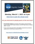 Virtual College Athletics Information Session Tonight!