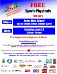 FREE Physical & ECG Opportunity