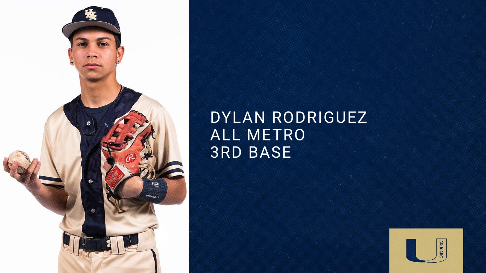 Dylan Rodriguez Selected to All Metro Team