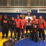 Half Moon Bay High School Boys Varsity Wrestling finishes 3rd place