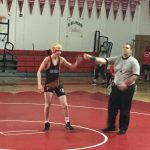 Half Moon Bay High School Boys Junior Varsity Wrestling beat Burlingame High School 12-0