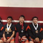 Boys Junior Varsity Wrestling finishes 13th place at Webber Lawson 2nd Man Wrestling Tournament