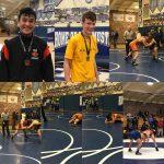 Boys Junior Varsity Wrestling finishes 8th place at Mustang JV Wrestling Tournament