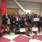 Girls Varsity Wrestling finishes 2nd place at Albany Tournament