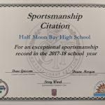 HMBHS Sportsmanship Award