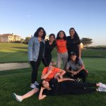 Girls Varsity Golf beats South San Francisco 221 – 233