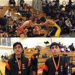 3-HMB JV Boys Wrestlers Compete in Cupertino