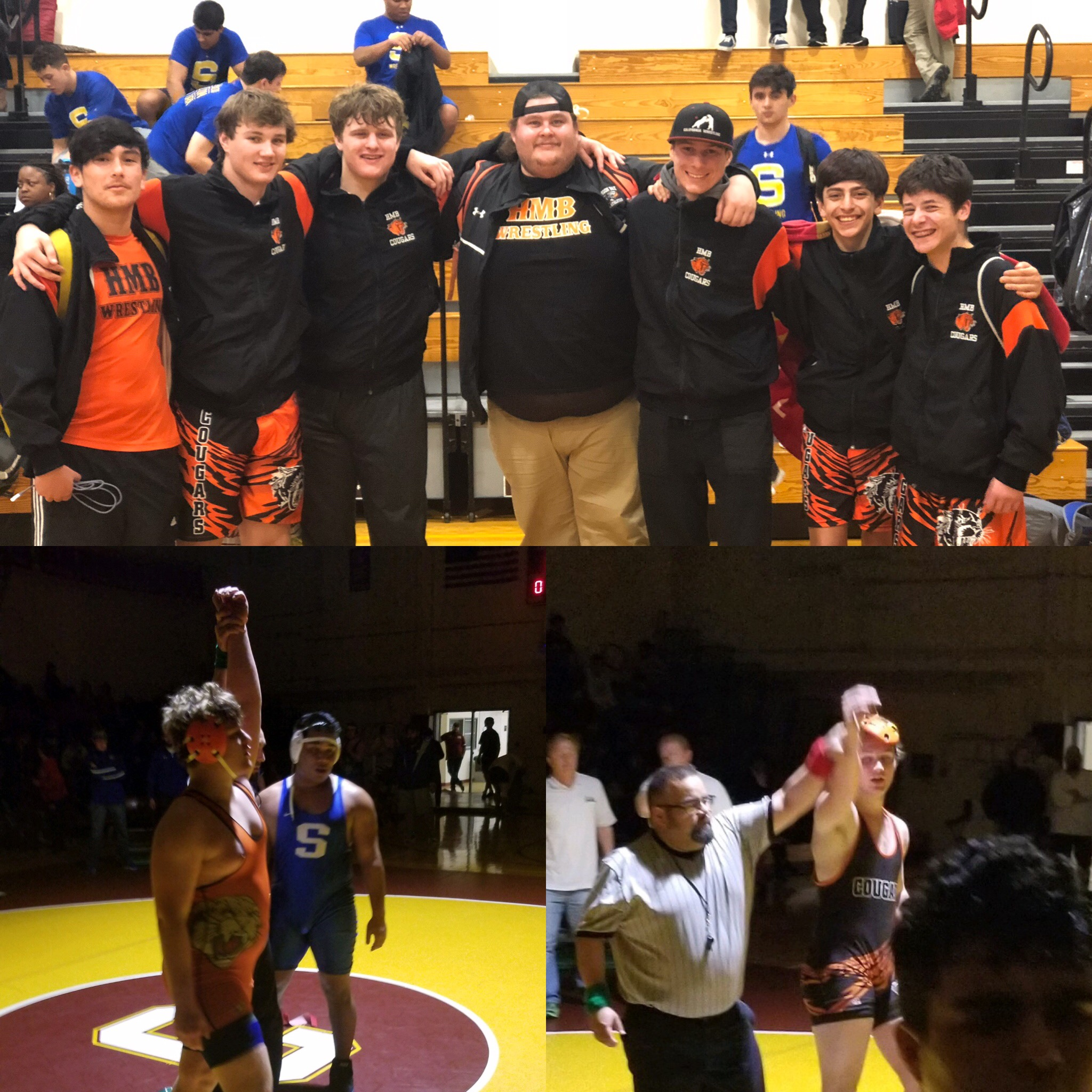 HMB Wrestlers Grabowski and Duncan Capture 1st Place  at Cupertino Wrestling Tournament