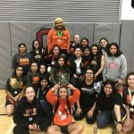 The Cougar Girls Wrestling Team win 3rd Straight Team Tournament