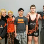 ALL HMB HS Varsity Boys Wrestling Team Placed in Final Tournament