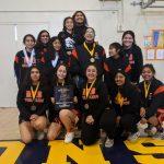 Girls Varsity Team capture 2nd straight Team Tournament Title