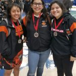Girls Varsity Wrestling finishes 3rd place at Girls MidCal Wrestling Tournament