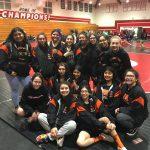 Girls Varsity Wrestling finishes 4th place at Lady Baler Bash Tourny