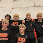 The Frosh/Soph HMB Wrestlers Finish Strong in San Jose