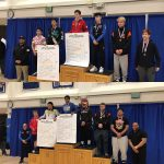 HMB Wrestlers' Diaz-Marquez and Grabowski place 4th at CCS
