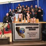 Girls Varsity Wrestling finishes 3rd place at Girls CCS  Wrestling Champ