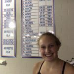 Record Breaking Night for Girls Swim