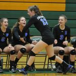 Volleyball Falls to NDP