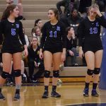Volleyball Falls to Ike in District Semi-Finals