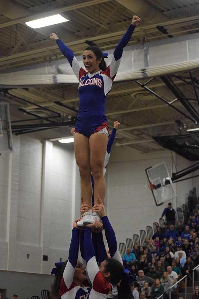 Cheer Sweeps CCCAM Invitational