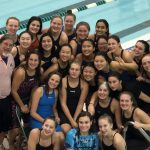 Girls Swim Wins OAA White League Championship