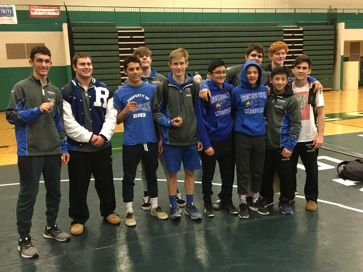 Wrestling Does Well at County Tournament