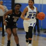 Girls Basketball Wins Key League Game