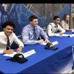 Four Falcons to Continue their Athletic Careers