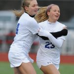 Girls Soccer Wins OAA Opener
