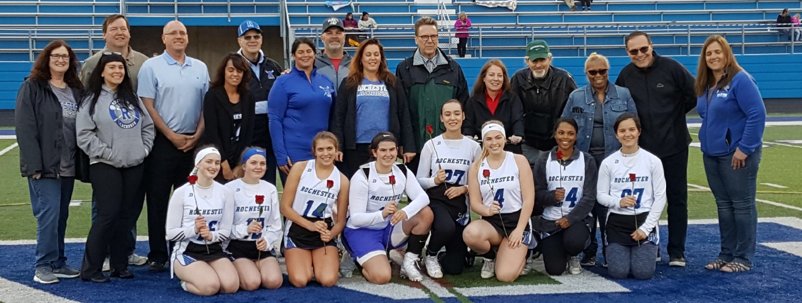 Girls Lacrosse Wins on Senior Night