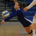 Volleyball Wins OAA Thriller