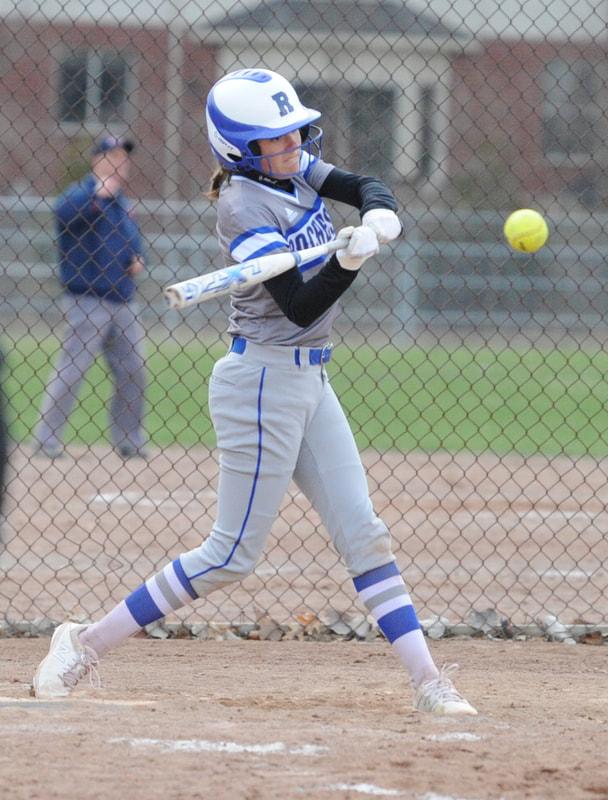 Softball Sweeps Royal Oak