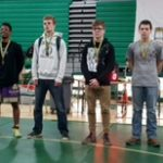Westfall High School Boys Varsity Wrestling finishes 4th place